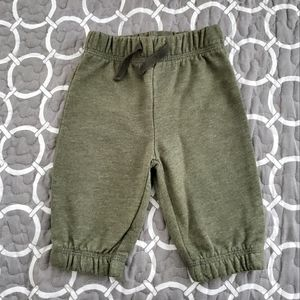 George Green Cotton Joggers Size 0-3M